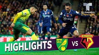 Norwich City Vs. Watford: 0 2 Goals & Highlights | Premier League | Telemundo Deportes