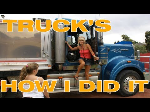 How i got into the Trucking Industry - Australia