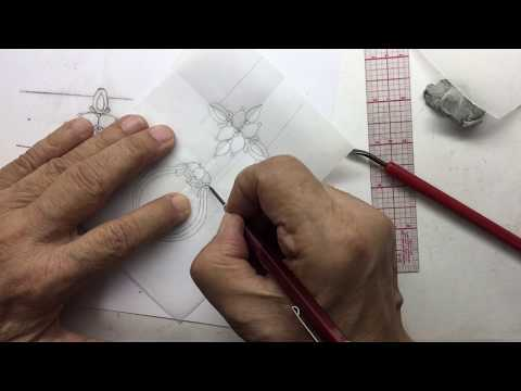 Jewelry Design: Pencil Drawing