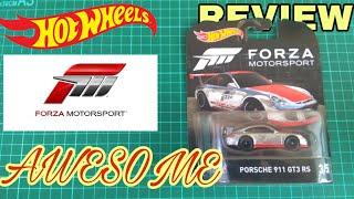 REVIEW: Hotwheels Porsche 911 GT3 RS Forza Motorsport #hotwheels#porsche#forzamotorsport