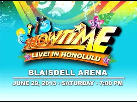 It's Showtime Live in HONOLULU!