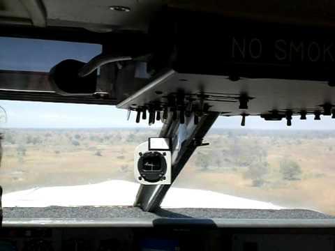 Exciting flight to the Okavango Delta in Botswana!