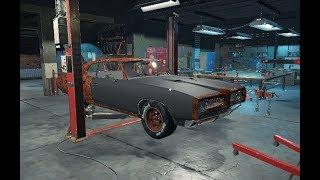 Car Mechanic Simulator 2018. Реставрация. Машины со свалки америки.