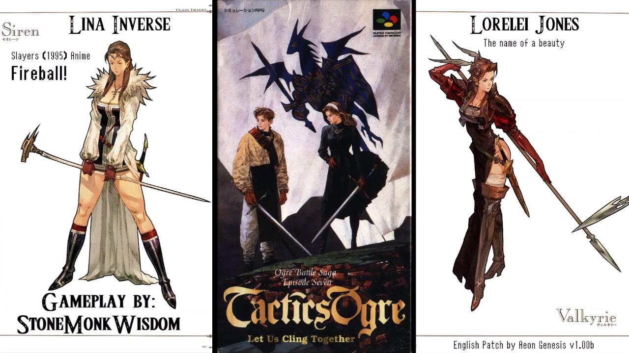 Tactics Ogre (SNES) [Part 2] - Amorika Castle Outside & Inside