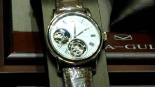 中国SEA-GULL(海鴎表)のデュアルトゥールビヨンの腕時計です。2個あると...