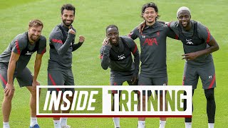 Inside Training: Attacking drills and finishing challenge ahead of the new season