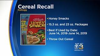 Kellogg's Recalls Honey Smacks Cereal Due To Salmonella Risk