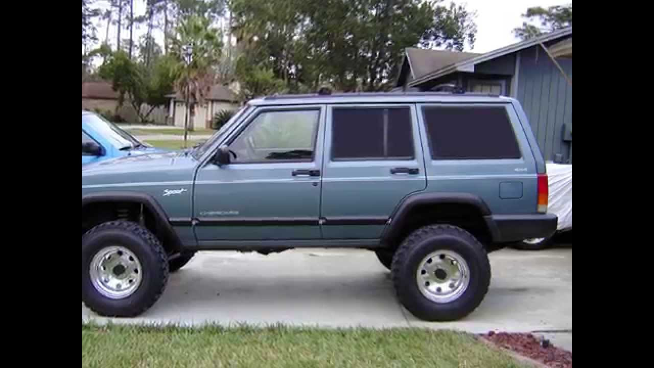 jeep xj 5 inch lift 31 [ 1280 x 720 Pixel ]