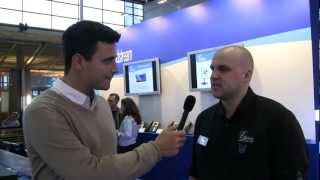 VoIPon interview Grandstream @CeBit 2013 on the Grandstream GXP2200 + Whats new for Grandstream