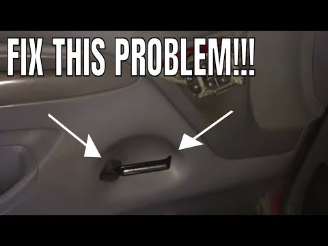 Easy Obs Door Handle Fix 1992 1997 Ford Youtube