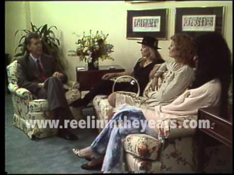 Cher, Michelle Pfeiffer, Susan Sarandon Interview 1987  Brian Linehan's City Lights