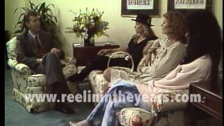 Cher, Michelle Pfeiffer, Susan Sarandon Interview 1987 Brian Linehan's City Lights