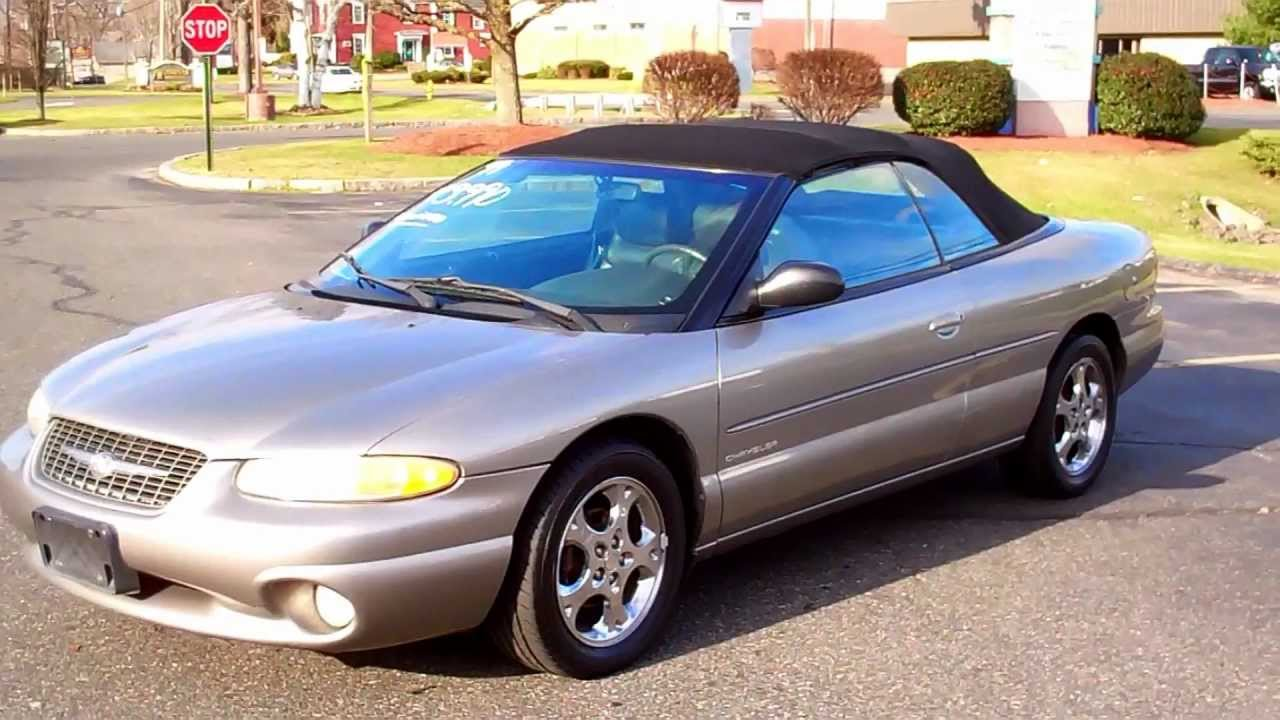 2000 Chrysler Sebring Jxi Limited Owners Manual