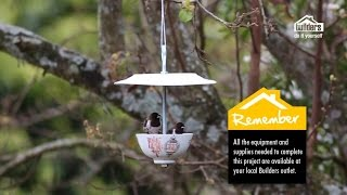 Builders Diy Youtube Series: Episode 6a (teacup Birdfeeder)
