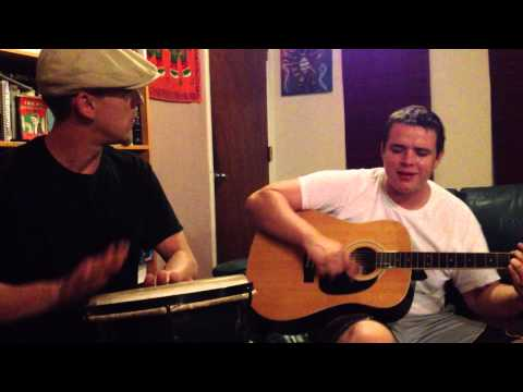 Wagon Wheel Jam Session  Guitar/Drums Cover