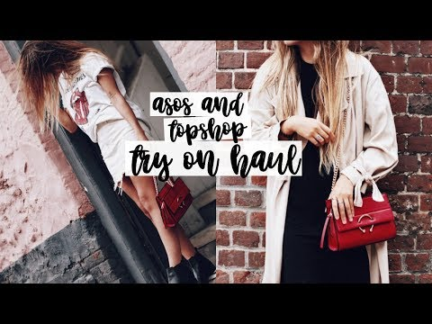 TOPSHOP & ASOS TRY ON HAUL | SUMMER AUTUMN TRANSITIONAL STYLE | CopperGardenx