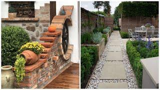 30 examples of backyard design and garden decor!