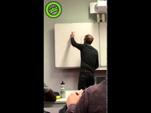 Teacher finds a cat drawn on his whiteboard