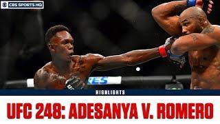 UFC 248: Israel Adesanya defeats Yoel Romero by unanimous dec. | Highlights & Recap | CBS Sports HQ