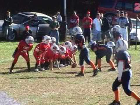 AWESOME little league kid football player (PT. 1) - YouTube