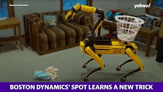 'Spot' robot: Boston Dynamics upgrades four-legged robot with a new appendage