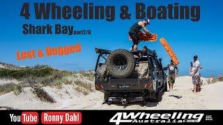 4 Wheeling & Boating Shark Bay, part 2/8 Lost and Bogged