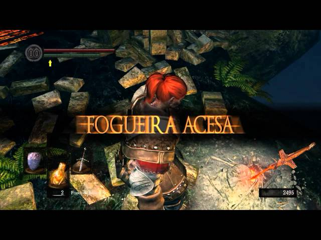 Dark Souls #05 - Boss Borboleta do luar