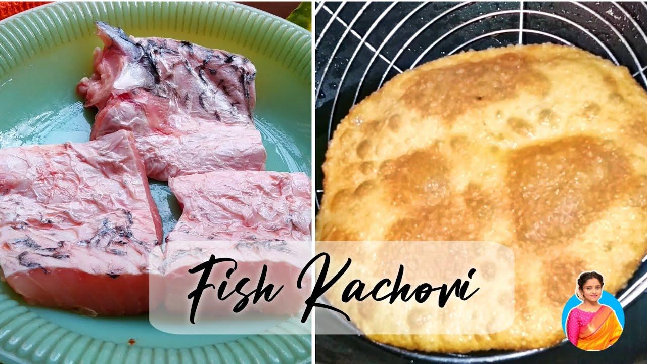 Macher Kachuri ||Best Street Food of North Kolkata|| Fish kachori || FoodTalk