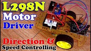 Arduino L298N dc motor control code | L298N motor Driver Arduino | Arduino motor driver L298N