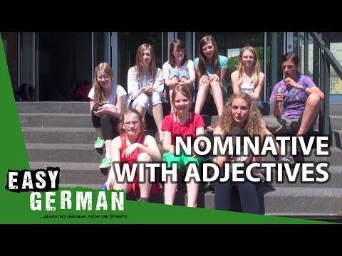 Tiếng Đức bài 10: Nominative với tính từ