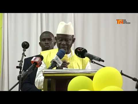 UDP CONGRESS: Darboe Clarifies Changes to Party's Constitution