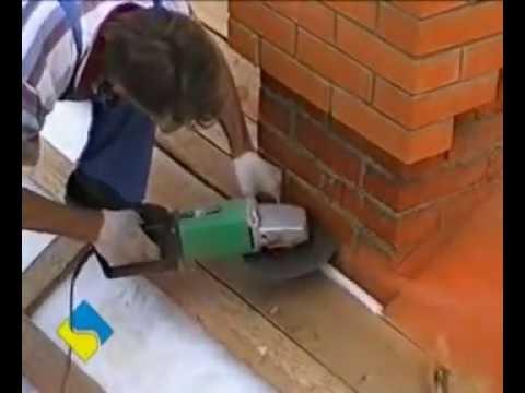 видео: Разделка - печной трубы на крыше
