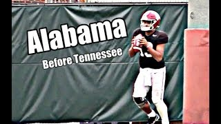 Alabama Crimson Tide Football: Watch Tua Tagovailoa before Tennessee, Isaiah Buggs, Raekwon Davis
