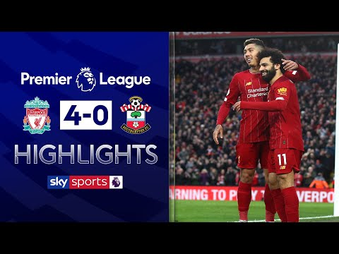 Mo Salah stars as Liverpool remain unbeaten | Liverpool 4-0 Southampton | EPL Highlights