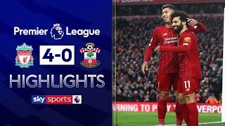 Mo Salah stars as Liverpool remain unbeaten | Liverpool 4-0 Southampton | EPL Highlights