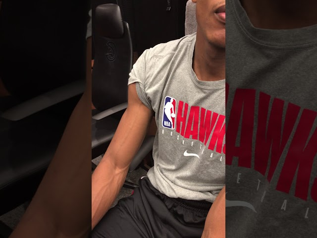 Atlanta Hawks Forward De'Andre Hunter Postgame Interview (11-23-19)