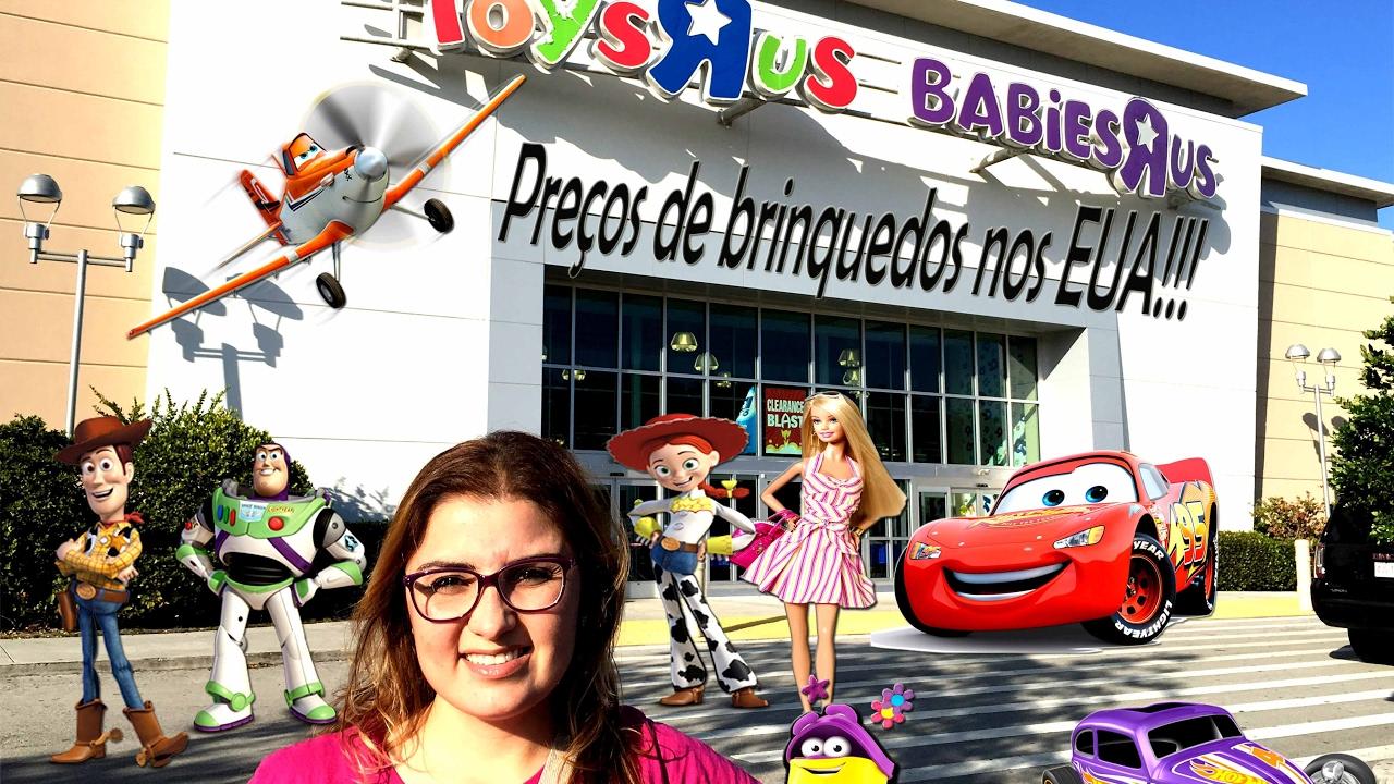 49b3ae2d3 LOJA DE BRINQUEDO NOS ESTADOS UNIDOS - Toys r Us - MUITOOOOO BARATOOOO