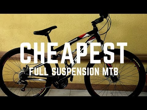 2019 Trinx Evolution Full Suspension Mountain Bike Unboxing and Set-up (With English subtitles)