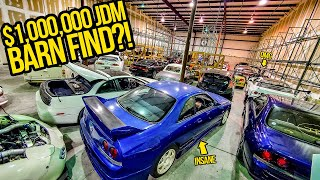 I Found $1,000,000+ Worth Of RARE Japanese DREAM Cars HIDDEN In A Garage (THEY ARE ALL FOR SALE!)