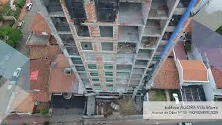 Avance de Obra mes de Noviembre 2020 - Edificio ÁGORA Villa Morra
