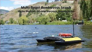 IROS 2016: Multi Target Rendezvous Search