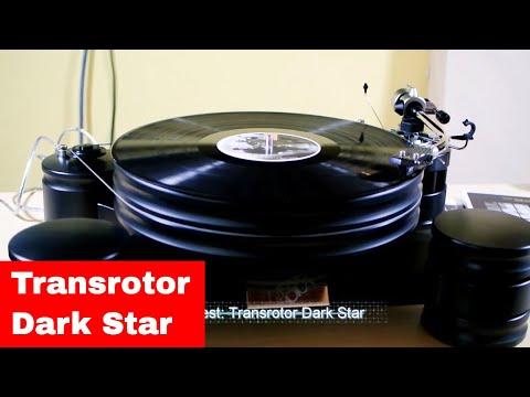 Kurztest: Transrotor Dark Star Plattenspieler
