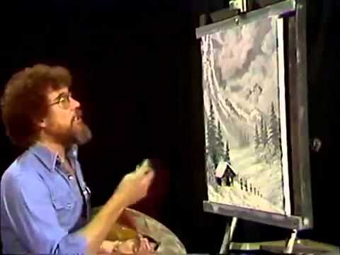 bob-ross---gemälde-winter-nebel---malerei-video