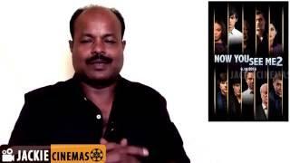 Now You See Me 2 2016 Hollywood Heist Thriller Movie Review In Tamil By #Jackiesekar #Jackiecinemas