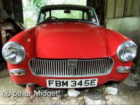 mg midget for sale in virginia