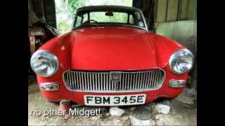 mg midget for sale on ebay