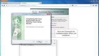 VPN-Client unter Windows 7 installieren und einrichten