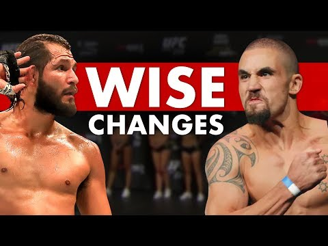 The 10 Wisest Weight Class Changes In MMA/UFC History