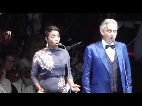 Andrea Bocelli & Heather Headley Canto Della Terra 2018