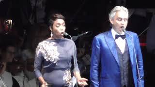 Andrea Bocelli & Heather Headley Canto Della Terra 2018